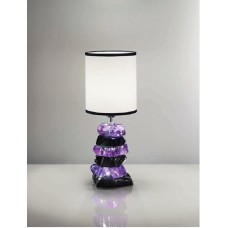 Настольная лампа Arizzi Fashion арт. 2097/1/L Purple Crystal