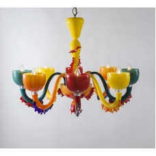 Люстра Signoretti арт. BSL 108/8 Multicolor