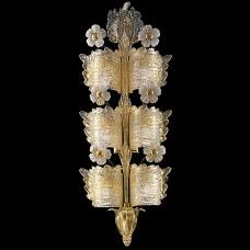 "Настенный светильник Barovier&Toso арт.4662/4 Grand Hotel Golden ""rugiada"""