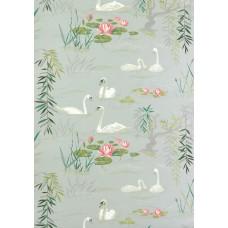 Ткань Nina Campbell SWAN LAKE NCF3910-01