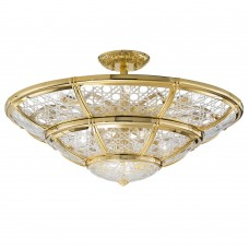 Люстра Possoni арт. 1898/14SF-C Plated Gold Crystal