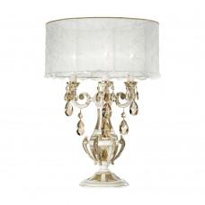 Настольная лампа Possoni арт. 888/L3-PZ-GS French Gold Crystal