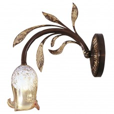 Настенный светильник Possoni арт. 119/A1 Antique Brass Rust/Gold Leaf