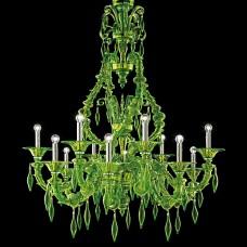 Люстра Barovier&Toso арт.5558/12 San Giorgio Liquid Green