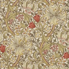 Обои Morris GOLDEN LILY 210400 ( art. 216462 kat. The Craftsman Wallpapers )
