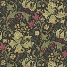 Обои Morris GOLDEN LILY 210403 ( art. 216463 kat. The Craftsman Wallpapers )