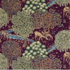 Ткань Morris THE BROOK 224498 VELVET, 226473 - The Craftsman Fabrics
