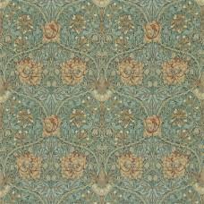 Ткань Morris HONEYSUCKLE & TULIP DMFPHT202 ( DMORHO202 каталог Morris Volume IV - Prints & Weaves )