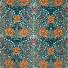 Ткань Morris HONEYSUCKLE AND TULIP VELVET 236940