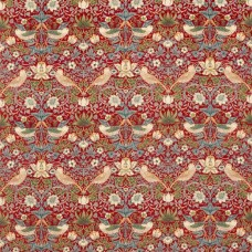 Ткань Morris STRAWBERRY THIEF VELVET 236933
