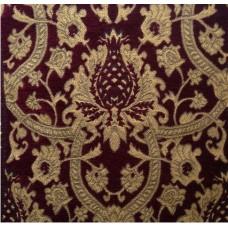 Ткань Voyage Velvet/ Jacquard Wine