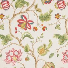 Ткань Robert Allen BLOOM SITY- LACQUER RED