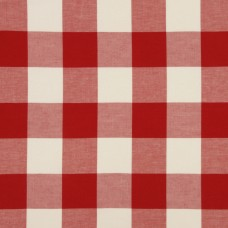 Ткань Robert Allen CHECKERED OUT- LACQUER RED