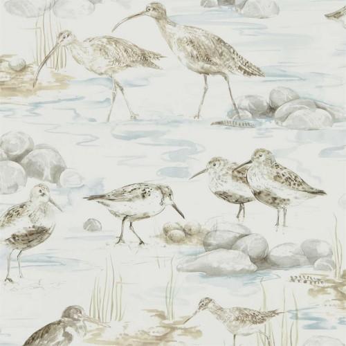 Обои Sanderson  ESTUARY BIRDS 216492