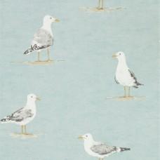 Обои Sanderson  SHORE BIRDS 216564