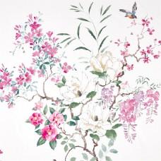 Ткань Sanderson MAGNOLIA & BLOSSOM 226292 Cotton
