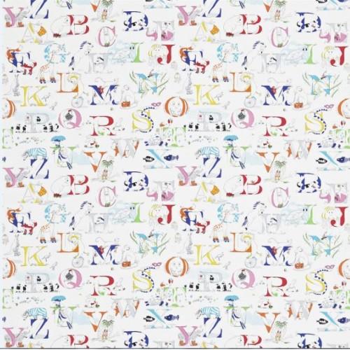 Ткань Sanderson ALPHABET ZOO 223910