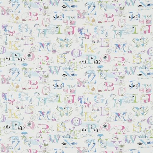 Ткань Sanderson ALPHABET ZOO 223911