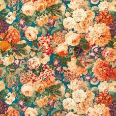 Ткань Sanderson VERY ROSE AND PEONY 226882 Velvet